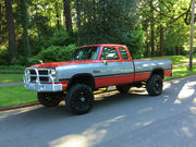1992 Dodge Ram 2500 Ram,  2500,  W350,  4x4,  Lifted,  5.9L, 12 Valve Diesel