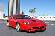 2000 Ferrari 550 2 door coupe